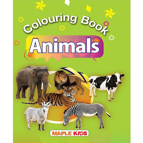 Maple Kids - Colouring Book - Animals