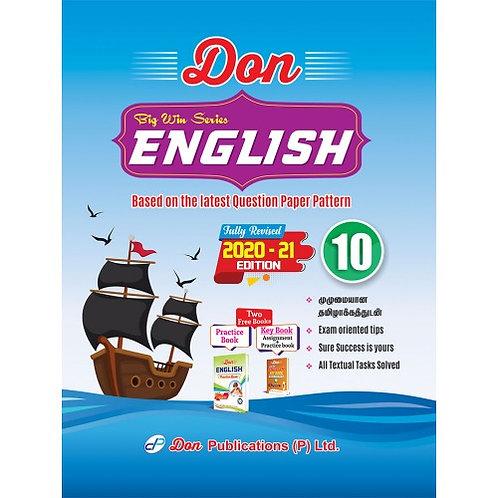 Don English Class 10