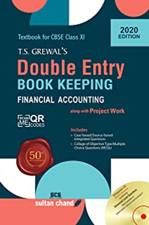 Double Entry Book Keeping Class XI - T.S.Grewal