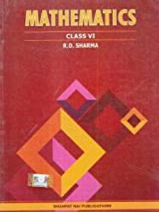 R.D.Sharma Class 06