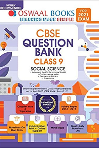 Oswaal Question Bank Class 09 - Social
