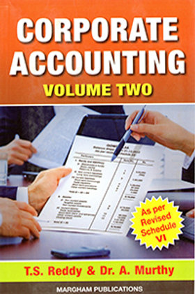 Corporate Accounting Volume 2 - T.S.Reddy Y.Hari Prasad
