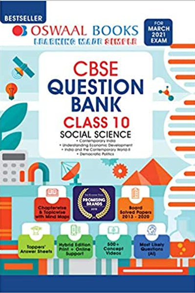 Oswaal Question Bank Class 10 - Social