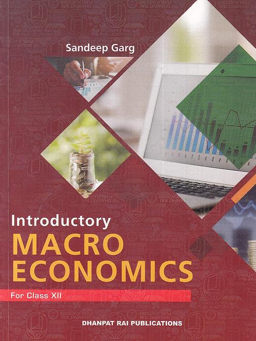 Introductory Macro Economics Class 12