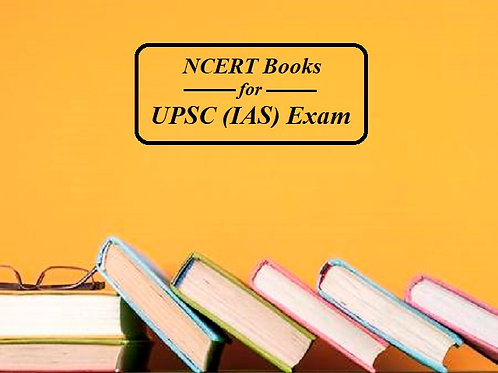 NCERT Complete Set - Class 6-12 ( For UPSC Exams) 37 Books