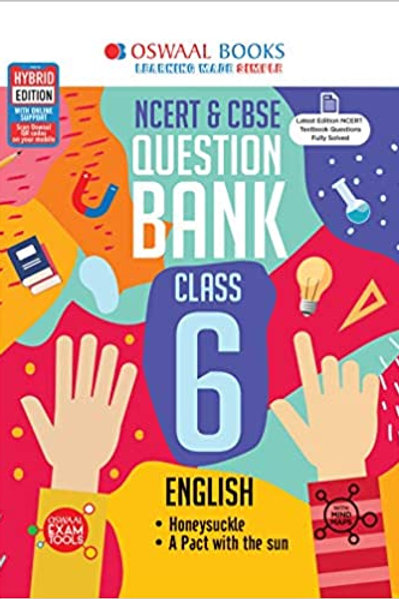 Oswaal Question Bank Class 06 - English