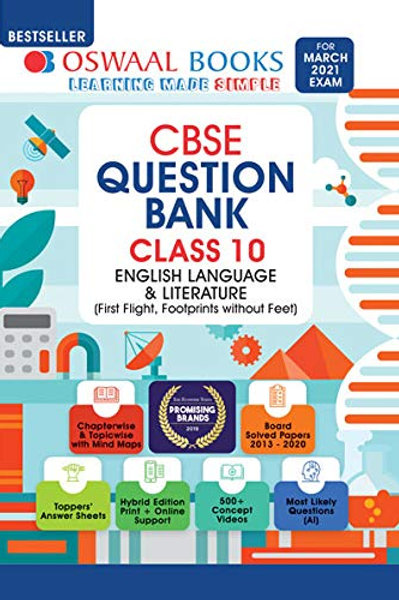 Oswaal Question Bank Class 10 -English