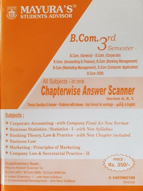 Mayura Scanner - B.com 3rd Sem