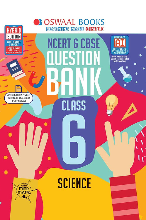 Oswaal Question Bank Class 6 Science