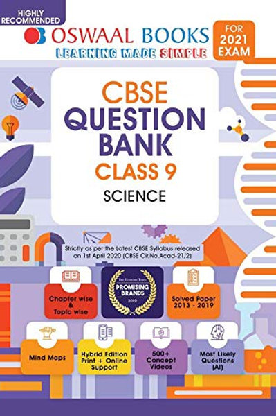 Oswaal Question Bank Class 09 - Science