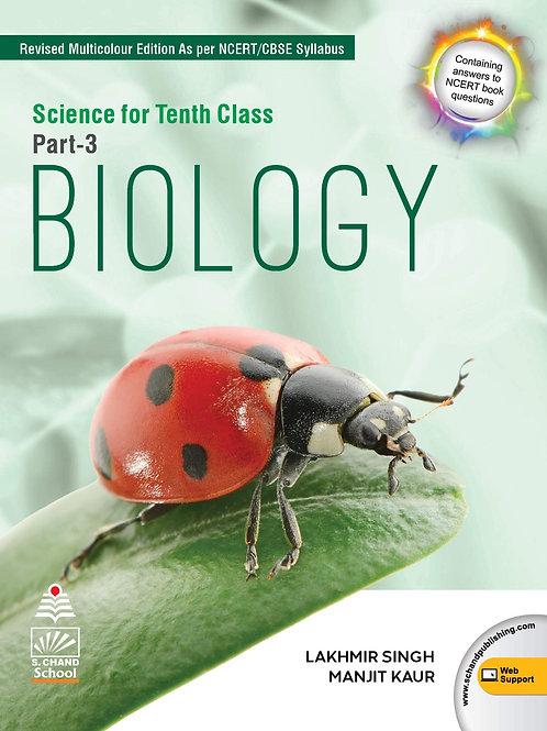 S.Chand Class 10 Biology (2020-21)