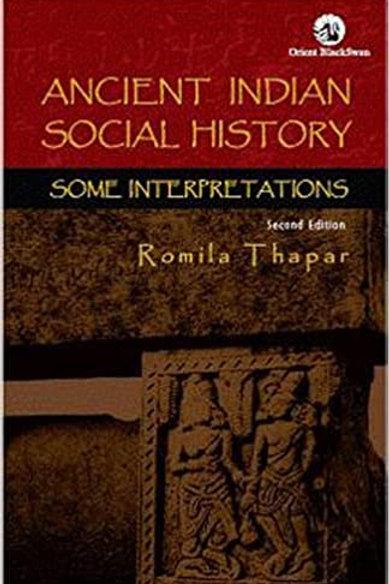 Ancient Indian Social History - Romila Thapar