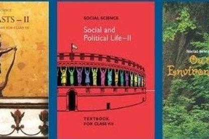 NCERT Class 07 Social ( 3 Books )