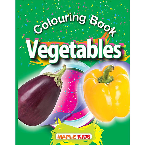 Maple Kids - Colouring Book - Vegetables