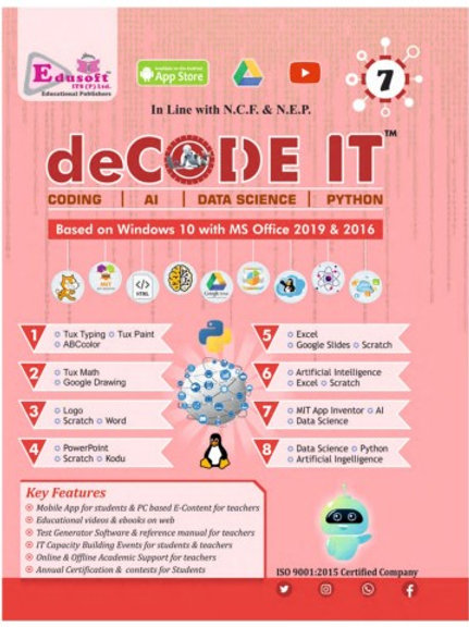 Decode IT & My Dream Book of Artificial Intelligence Class7