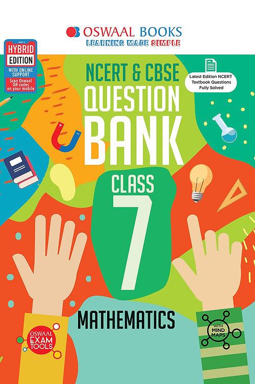 Oswaal Question Bank Class 07 - Maths