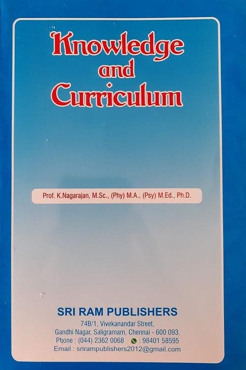 Knowledge & Curriculum - K.Nagarajan