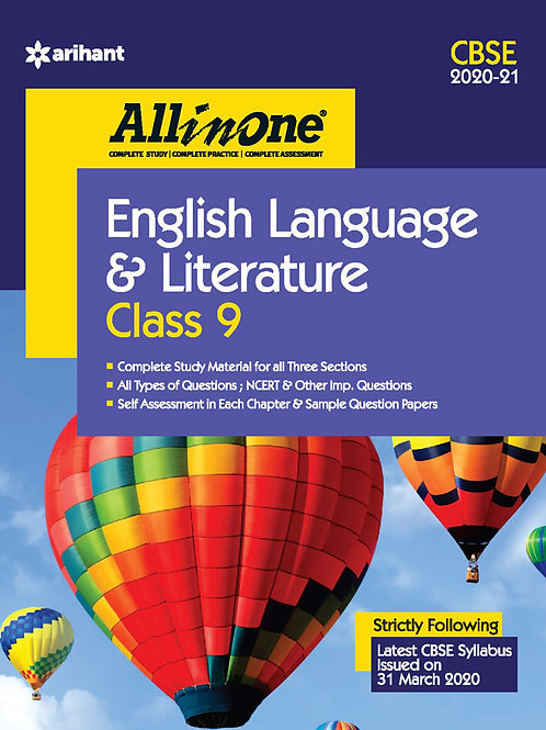 Arihant All in One Class 09 English