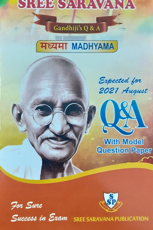 Saravana Q & A - Madhyama Aug 2021