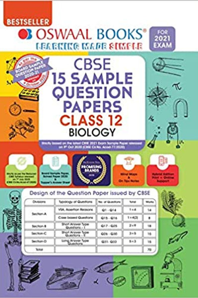 Oswaal Sample Question Papers 12 Biology