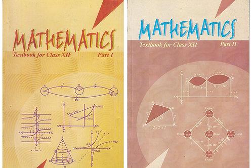NCERT Class 12 Maths Volume ( 1 &2 )