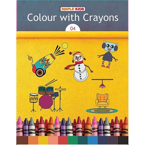 Maple Kids - Colour with Crayons 04