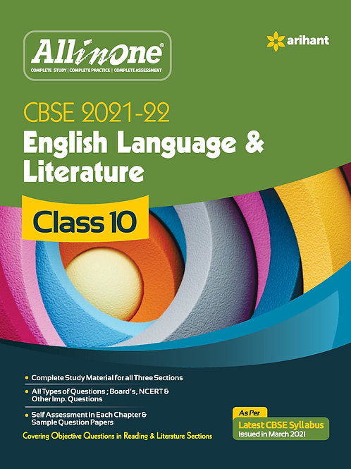Arihant All in One English Class 10