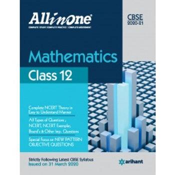 Arihant All in One Class 12 Maths (2020-21)
