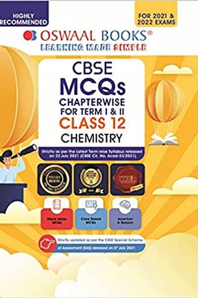 Oswaal CBSE MCQS Class 12  Chemistry Term 1 & 2