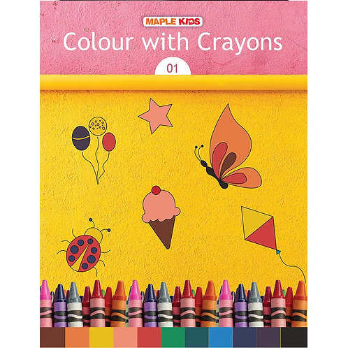 Maple Kids - Colour with Crayons 01