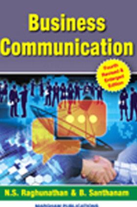 Business Communication - N.S.Ragunathan & B.Santhanam