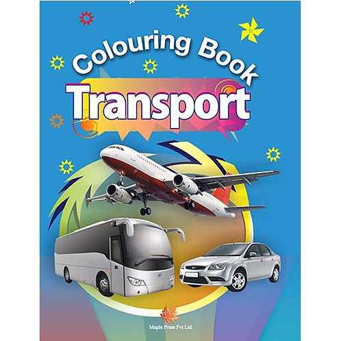 Maple Kids - Colouring Book - Transport