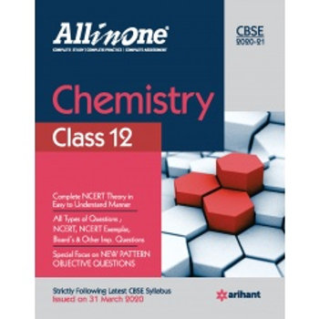 Arihant All in One Class 12 Chemistry (2020-21)