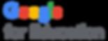 Google for Education Vertical Lockup RGB