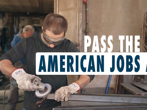 PASS THE AMERICAN JOBS ACT: Invest in working families and our country