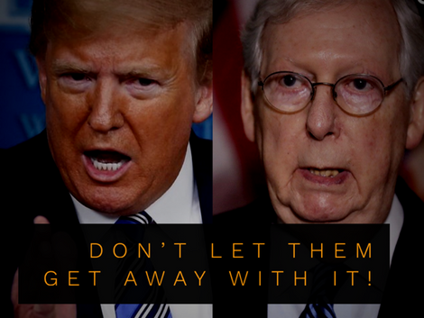 Trump and McConnell Prepare to Steal Another Supreme Court Seat.