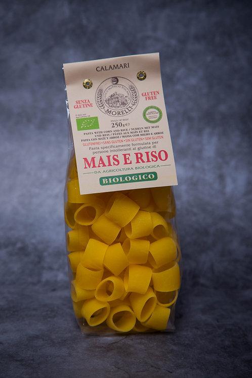 Pasta Morelli Mais E Riso Calamari (Rice & Corn Gluten Free) 250gr