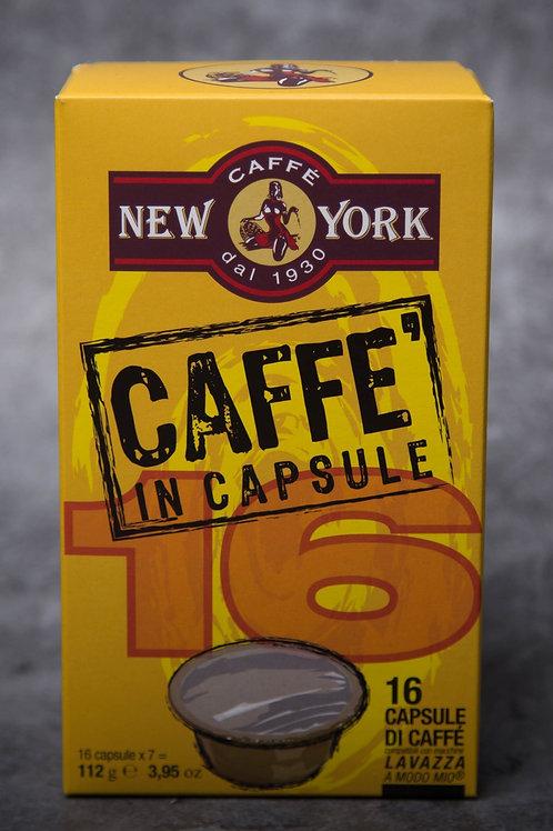 Caffe New York - COFFEE CAPSULES – A MODO MIO® COMPATIBLE – 16 PCS
