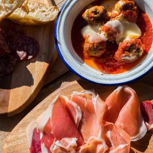 The italian meat feast