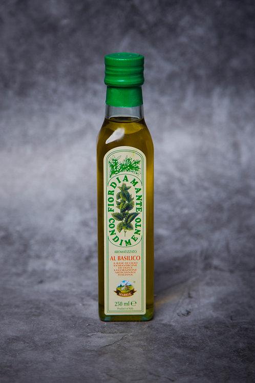 Fiordiamante Olive Oil - Al Basilico