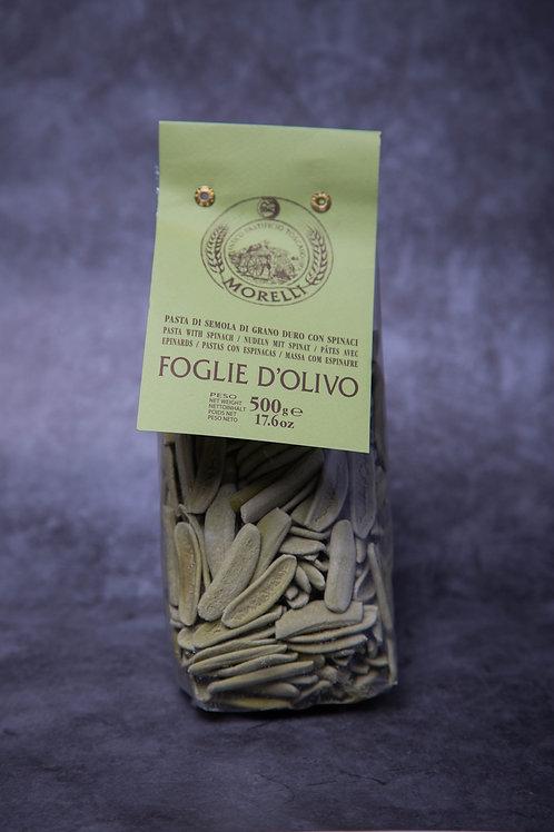 Pasta Morelli Foglie d'Ulivo with Spinach 500gr