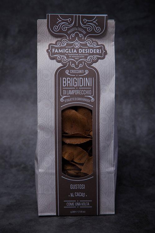 Famiglia Desideri Brigidini Di Lamporecchio with cocoa