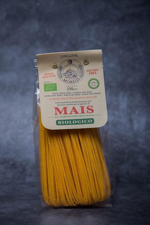 Pasta Morelli Mais Linguine with Organic Corn (Gluten Free) 250gr