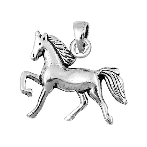 Silver Pendant - Horse