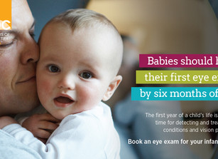 Why your child's first eye should be at 6 months of age