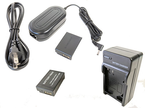 LPE17PRO - LPE17 Style Battery, Charger, Coupler & AC Adapter Kit