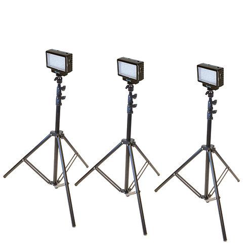 LED70T - Three Point LED70 Studio Kit