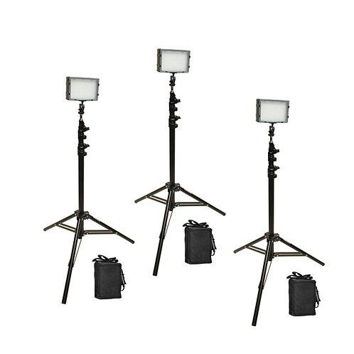 FP540KB - Three Point FP180 Studio Light & Battery Kit