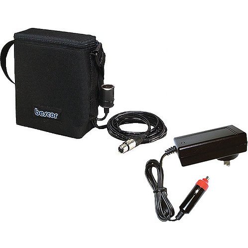 BES015XLRATM - 12v14.4a SLA Battery Pack w/ 4-Pin XLR and Auto Charger