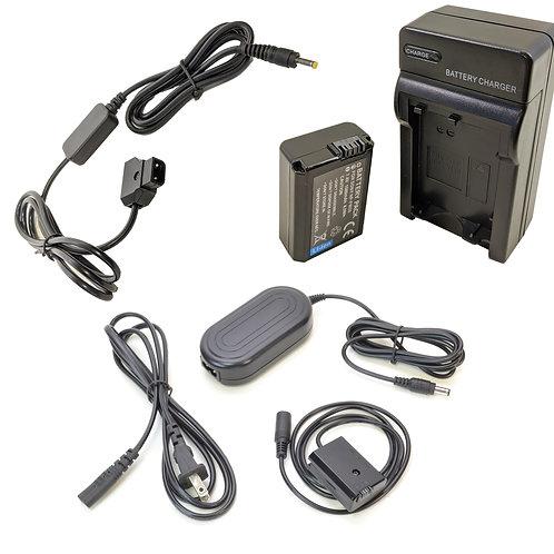 NPFW50PROD - NPFW50 Battery, AC Coupler & DTap Adapter